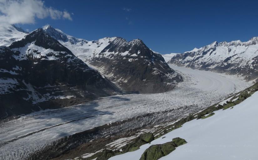 Tag 11: Aletsch Gletscher
