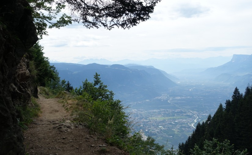 Tag 54: Meraner Höhenweg – Schenna – Meran