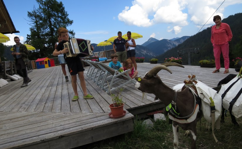 Tag 77: Nassfeld – Vallone di Rio Bianco – Egger Alm