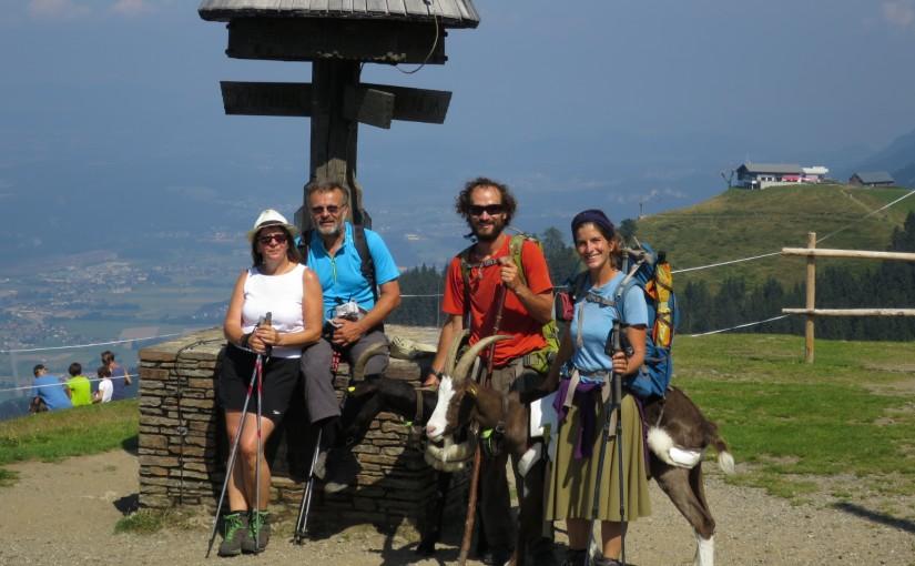 Tag 79: Dreiländereck mit Maria und Fritz