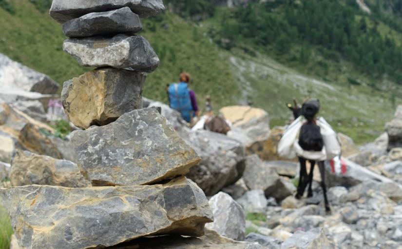 Tag 74: Passo Giramondo – Wolayerseehütte – untere Valentinalm